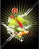 Illustration de fleur de vecteur Photographie stock