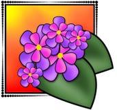 Illustration de fleurs Images libres de droits