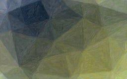 Illustration de fond brun, jaune et bleu d'Impasto d'impressionniste photo libre de droits
