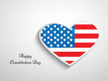 Illustration de fond de jour de constitution des Etats-Unis illustration de vecteur