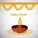Illustration de fond indou de Diwali de festival Images stock