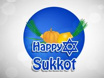Illustration de fond juif de Sukkot de vacances illustration de vecteur
