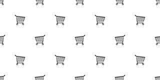 Illustration de fond de tuile de papier peint de répétition d'isolement par écharpe sans couture de papier d'enveloppe de cadeau  illustration libre de droits