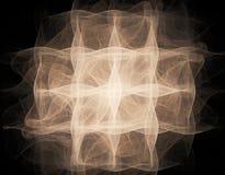 illustration de fractale du résumé 3d pour la conception créative Photos libres de droits