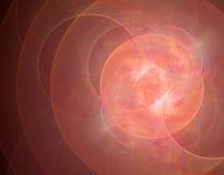 illustration de fractale du résumé 3d pour la conception créative Image stock