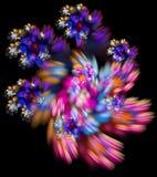 illustration de fractale du résumé 3d pour la conception créative Photo libre de droits