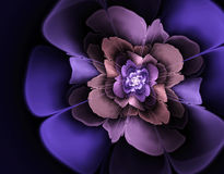 illustration de fractale du résumé 3d pour la conception créative Image libre de droits