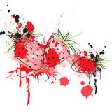 Illustration de fraise Images stock
