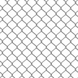illustration de frontière de sécurité de chainlink sans joint Photos libres de droits