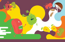 Illustration de fruit Image stock
