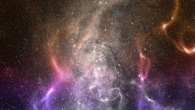 Illustration de galaxie de l'espace photographie stock libre de droits