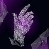 Illustration de GeometricHand illustration de vecteur