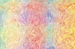 Illustration de grand crémeux variation de couleur peinture à l'huile le fond horizontal images stock