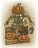 Illustration de Halloween dessinée à la main illustration stock