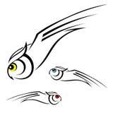 Illustration de hibou Images libres de droits