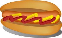 Illustration de hot dog Image libre de droits