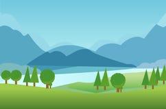 Illustration de jardin de fond de jeu belle illustration libre de droits