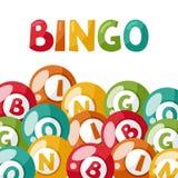 Illustration de jeu de bingo-test ou de loterie illustration de vecteur
