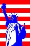 Illustration de Jour de la Déclaration d'Indépendance Photographie stock