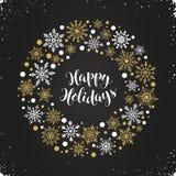 Illustration de Joyeux Noël Photographie stock