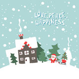 Illustration de Joyeux Noël Photo libre de droits