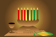 Illustration de Kwanzaa Photo libre de droits