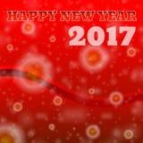 Illustration 2017 de la bonne année ENV 10 illustration de vecteur