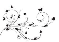 Illustration de la conception florale element Photo libre de droits