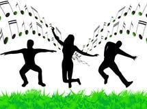 Illustration de la musique Images libres de droits