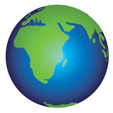 Illustration de la terre Photo libre de droits