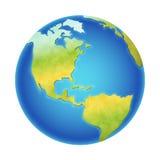 Illustration de la terre de vecteur Photographie stock