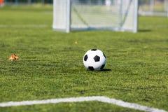 Illustration de lancement du football pitch images libres de droits
