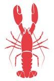 Illustration de langoustine Image libre de droits