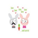 Illustration de lapin Photo stock