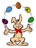 Illustration de lapin de Pâques Images stock