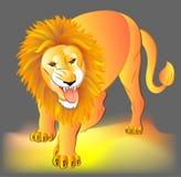 Illustration de lion Images libres de droits