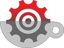 Illustration de logo d'affaires image stock