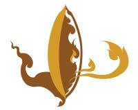 Illustration de logo de riz de la Thaïlande d'icône illustration de vecteur