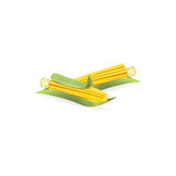 Illustration de maïs Photos stock