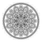 Illustration de mandala de vecteur Images libres de droits