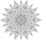 Illustration de mandala de vecteur Photo stock