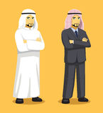 Illustration de Manga Arab Man Cartoon Vector Photos stock