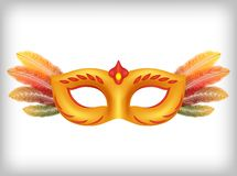 Illustration de masque de carnaval illustration stock