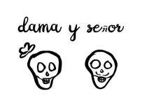 Illustration de Mexican Dia de los Muertos Images libres de droits