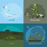 Illustration de militaires et d'armée Photographie stock libre de droits