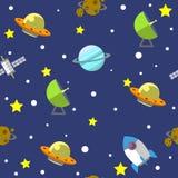 Illustration 02 de modèle de l'espace Photo libre de droits