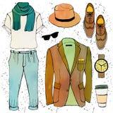 Illustration de mode Photographie stock