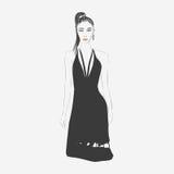 Illustration de mode de femme Image stock