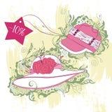 Illustration de mode des chapeaux de femmes Image stock