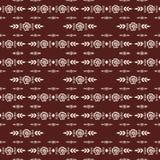 Illustration de modèle de Mehendi Image libre de droits